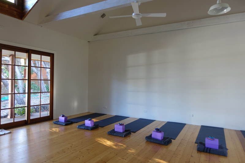 Yoga Retreat space in the Blue Mountains available now.