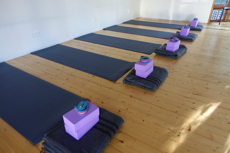 Yoga retreat space in the Blue Mountains for teachers and their students