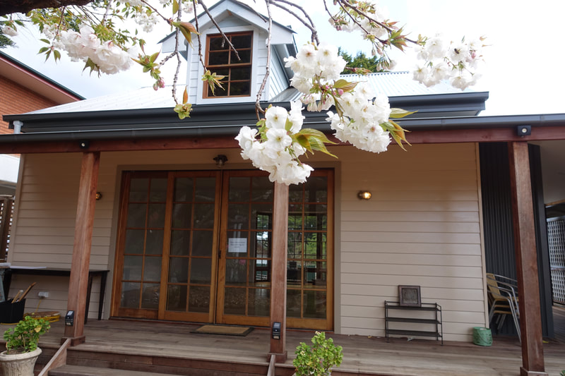 Kalimna yoga retreat in the Blue Mountains